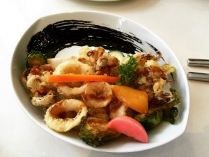 Best of Toronto Food Tour Eating Through TO Food Tours Miku Calamari in Squid Ink