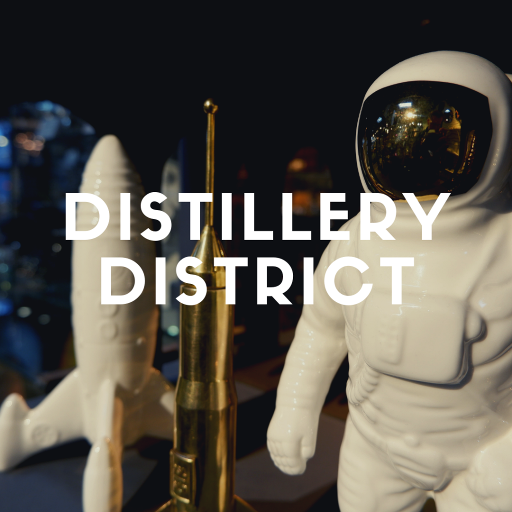 Link to Distillery District Neighbourhood Guide.