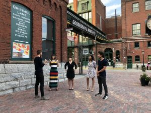 Eating Through TO Toronto Food Tour Distillery District Lift Your Spirits