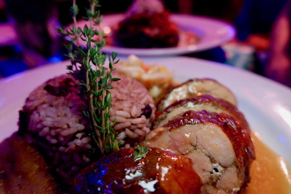 stuffed chicken with rice and beans lula lounge toronto