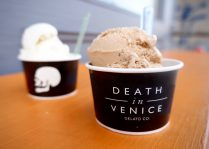 Ice Cream Menu Death in Venice Gelato Toronto Dundas West