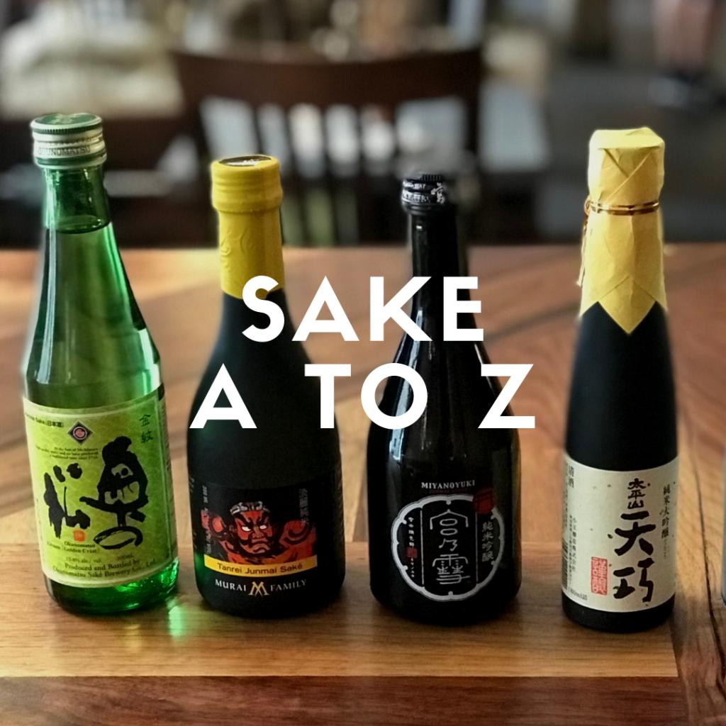 Eating Through TO Toronto Sake A to Z Tour