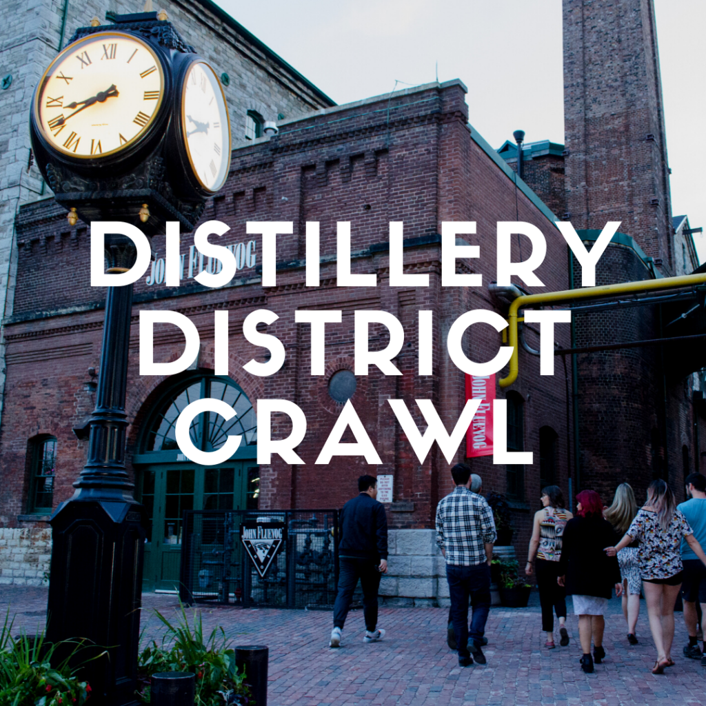 Eating Through TO Toronto Distillery District Food + Drink Crawl