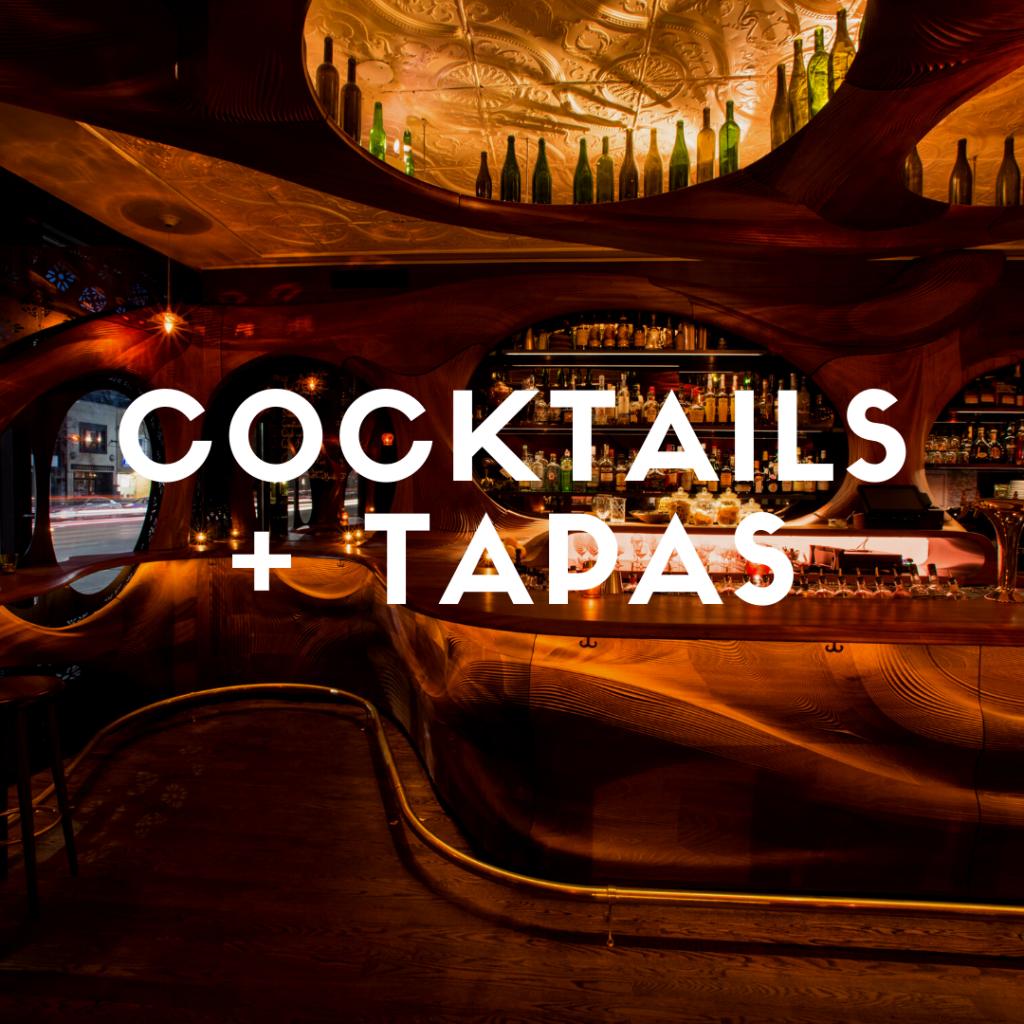 Eating Through TO Cocktails + Tapas Crawl