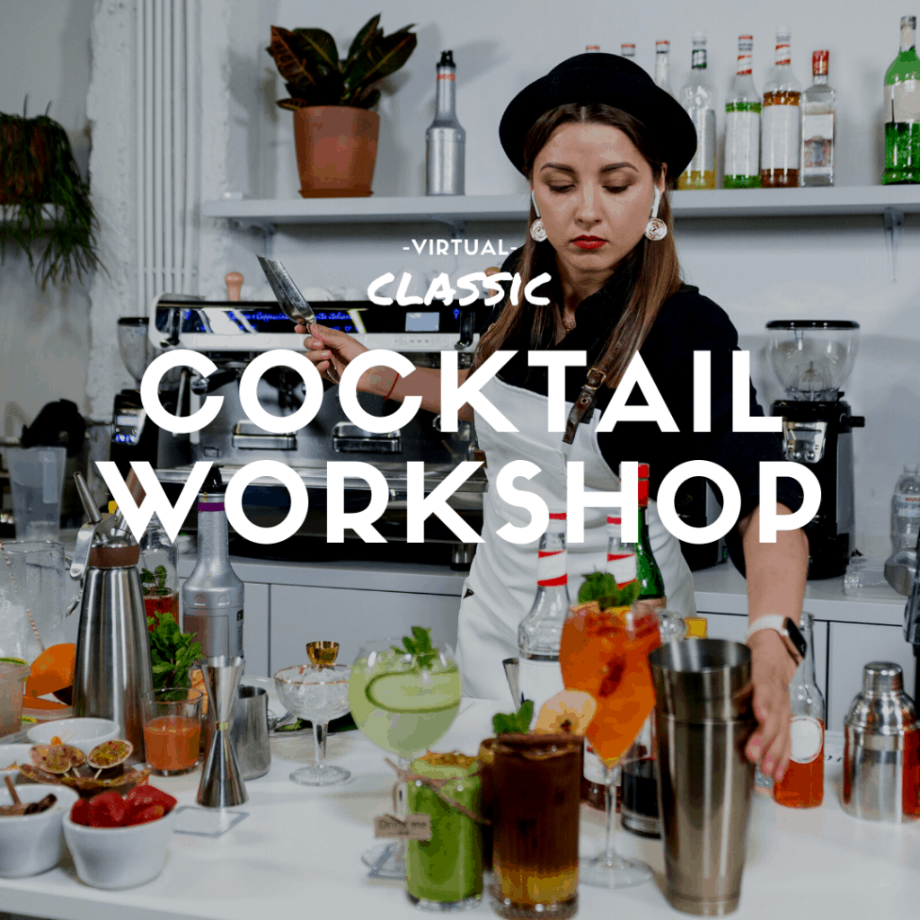 Virtual Cocktail Making Workshop Toronto