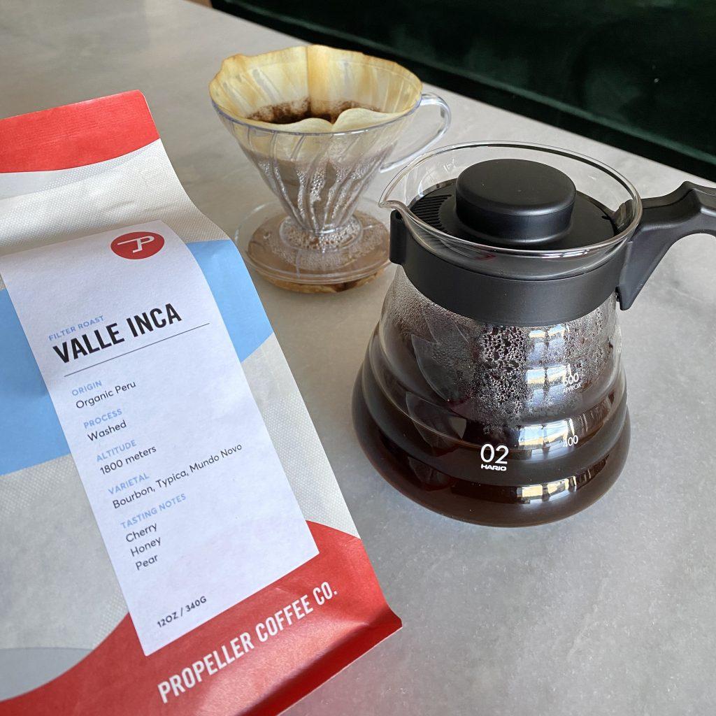 Virtual Single Origin Coffee Tasting