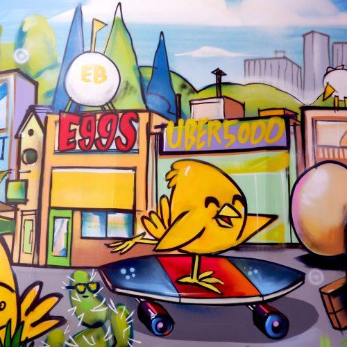 Uber5000 Graffiti
