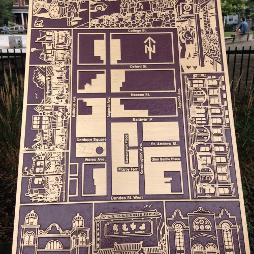 Kensington Market Map