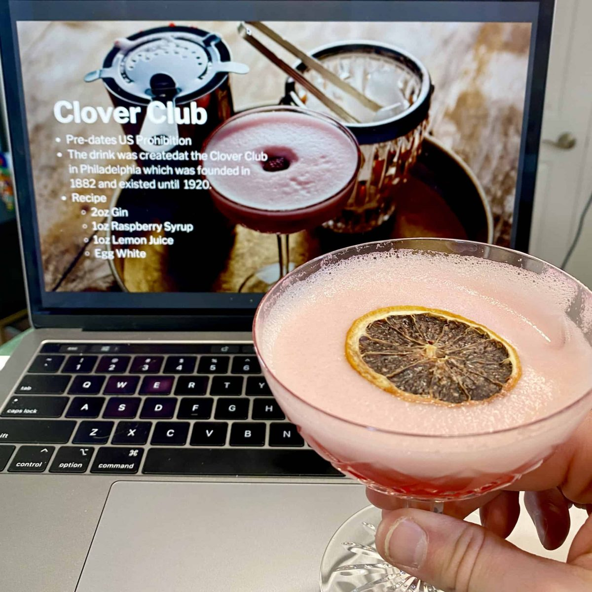 Virtual Cocktail Workshop Gin