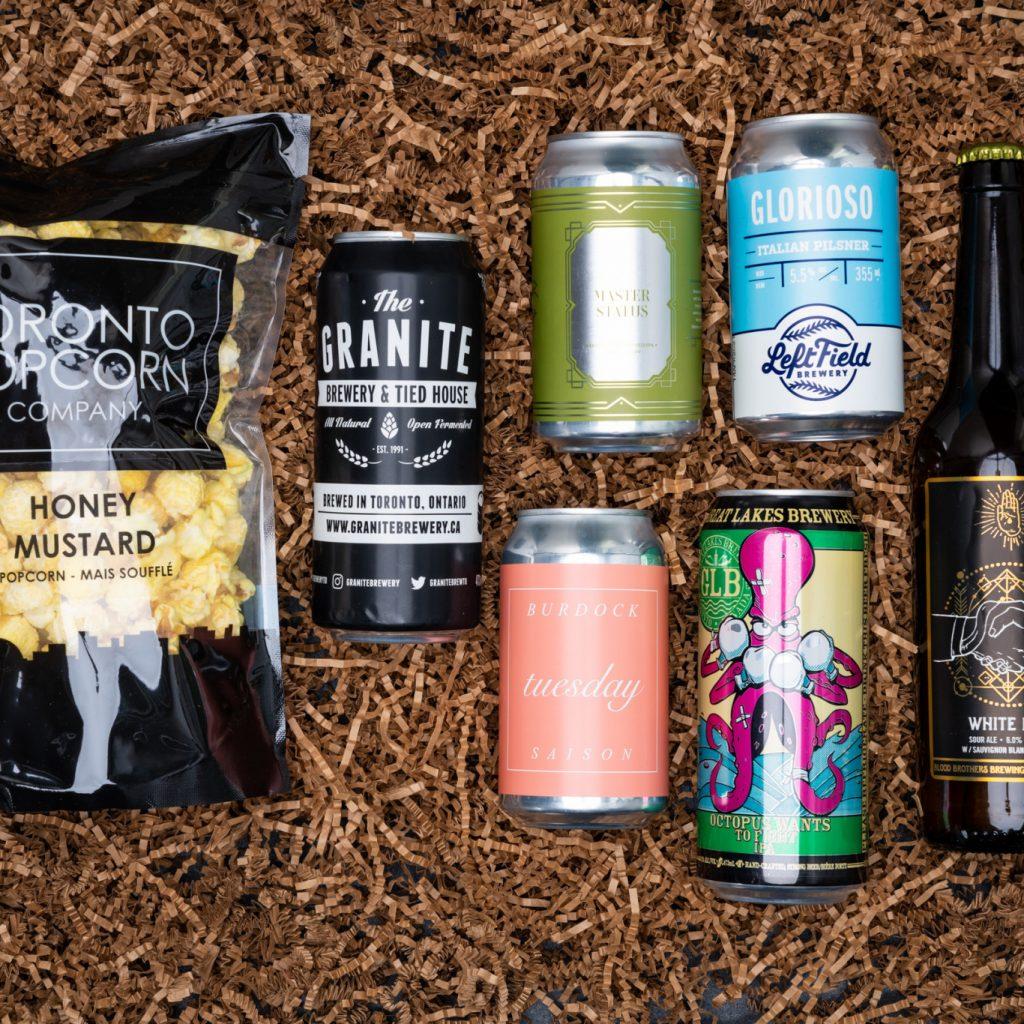 Virtual Ontario Craft Beer Tasting Kit